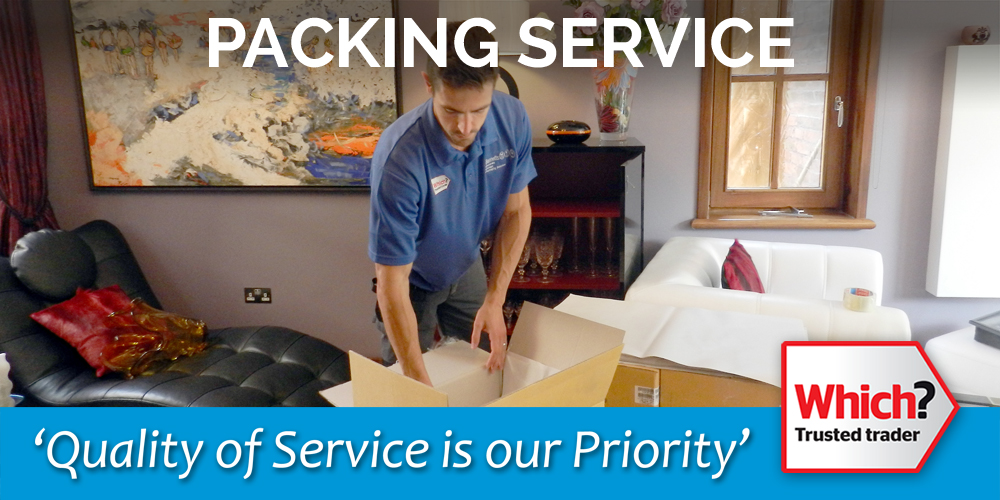 Bennetts Removals packing service
