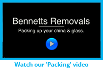 Bennetts Removals ~ Packing Video