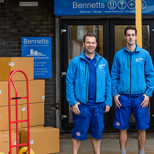 Bennetts Removals Packaging Materials for Sale
