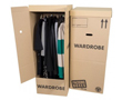Bennetts Removals ~ Cardboard Portable Hanging Wardrobe
